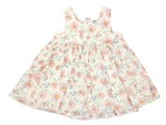Wheat kjole Pinafore ivory flower