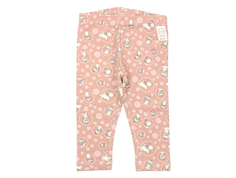 Wheat leggings Aristocats misty rose
