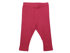 Wheat leggings rib dark berry