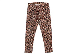Wheat leggings midnight blue flowers