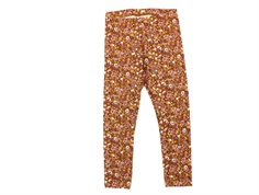 Wheat leggings nutella flowers
