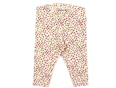 Wheat leggings powder mini flowers