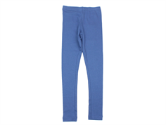 Wheat leggings rib blue horizon