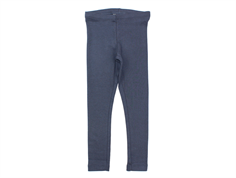 Wheat leggings rib greyblue