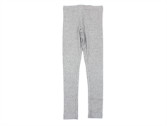Wheat leggings rib melange grey