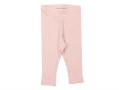 Wheat leggings rib soft rose