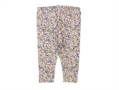 Wheat leggings soft lavender blomster