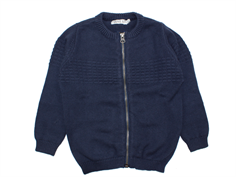 Wheat cardigan sailor navy