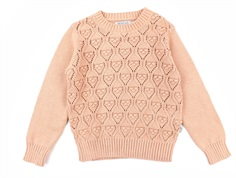 Wheat pullover Leise misty rose