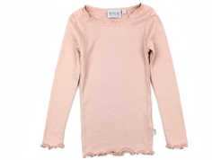 Wheat t-shirt rib misty rose med blonde