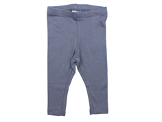 Wheat rib leggings grisaille baby