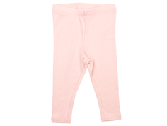 Wheat rib leggings soft rose