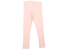 Wheat rib leggings soft rose child