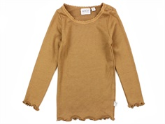 Wheat t-shirt rib caramel med blonde