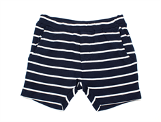 Wheat shorts Aske navy striber