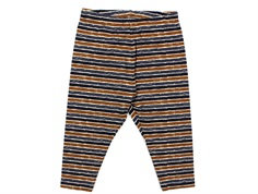 Wheat bukser Silas midnight blue stripe