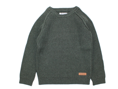 Wheat pullover Julius army melange