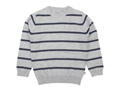 Wheat pullover Carl melange grey
