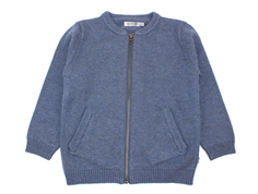 Wheat cardigan Chris greyblue melange
