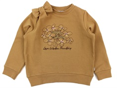 Wheat sweatshirt embroidery flower