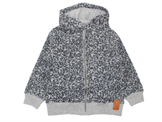 Wheat sweat cardigan Mickey navy grey