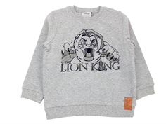 Wheat sweatshirt Lion King melange grey