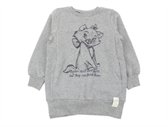 Wheat sweatshirt Marie quote melange grey