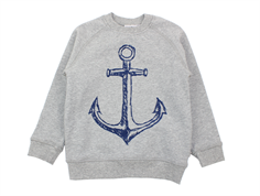 Wheat sweatshirt melange grey anker
