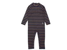 Wheat badedragt Nuna midnight blue stripe striber
