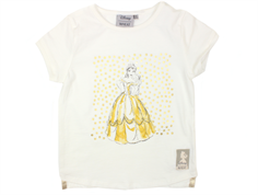 Wheat t-shirt Belle Ivory med guld dots