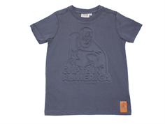 Wheat t-shirt Captain Amerika greyblue