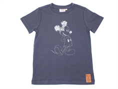 Wheat t-shirt Mickey greyblue