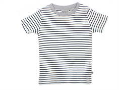 Wheat t-shirt Wagner navy stripes