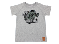 Wheat t-shirt angry Hulk melange grey