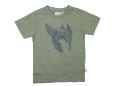 Wheat t-shirt agave green ridderhjelm
