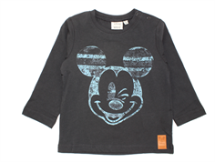 Wheat t-shirt Mickey stripe midnight blue