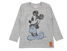 Wheat t-shirt Mickey melange grey