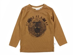 Wheat t-shirt caramel bear