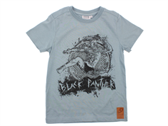 Wheat t-shirt Black Panter lead blue