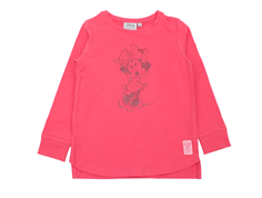Wheat t-shirt Minnie claret red glitter