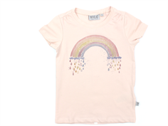 Wheat t-shirt rainbow powder