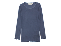 Wheat t-shirt rib greyblue med blonde