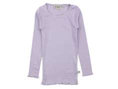 Wheat t-shirt rib soft lavender med blonde