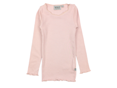 Wheat t-shirt rib soft rose med blonde