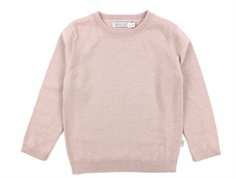 Wheat pullover strik rose powder uld