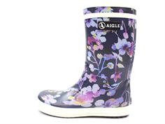 Aigle Lolly Pop gummistøvle dark flower
