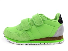 Woden Wonder sneaker Nor neon green
