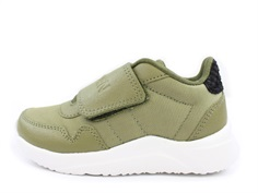 Woden Wonder sneaker Joe nylon lizard green