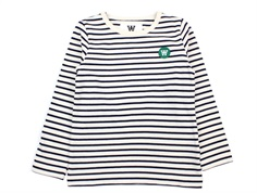 Wood Wood bluse Kim offwhite/navy stripes