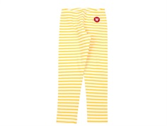 Wood Wood leggings Ira offwhite/yellow stripes